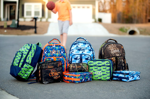 Boys Back Pack Collection