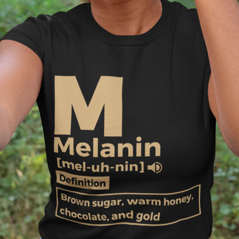 Melanin Definition Cotton Tshirt