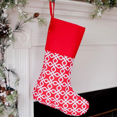 Monogrammed Christmas Stockings