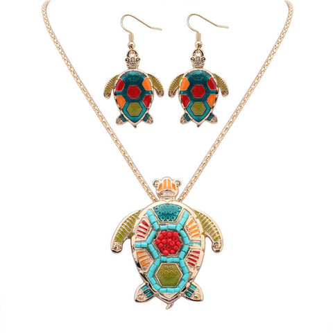 Turtle Jewelry Sets