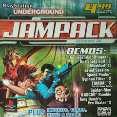 Playstation Underground Jampack Summer 2K (PSX) | Great Find Collectibles