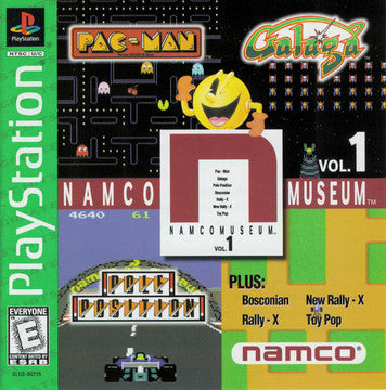 Namco Museum Volume 1 [Greatest Hits] (PSX) | Great Find Collectibles