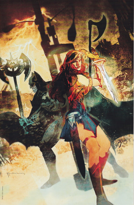 DC Dark Nights Metal #1 Forbidden Planet Virgin Exclusive