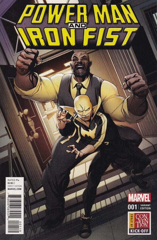 Marvel Power Man and Iron Fist #1 Variant