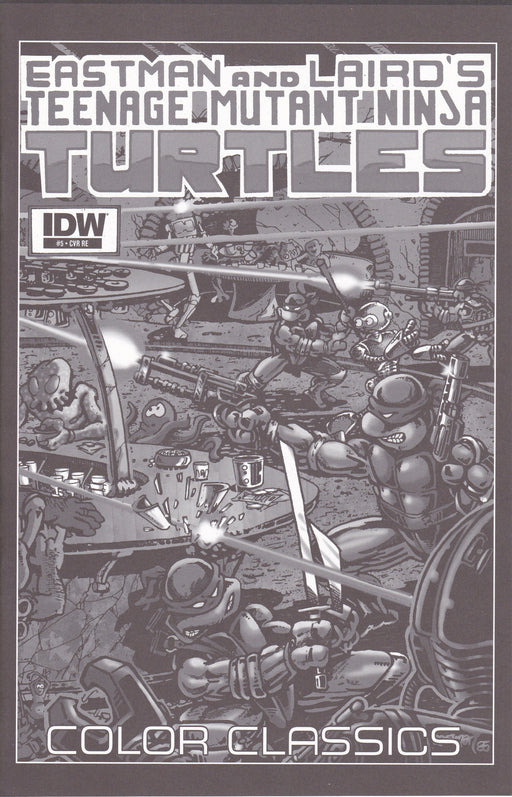 IDW TMNT Color Classics #5 Jetpack Comics Exclusive