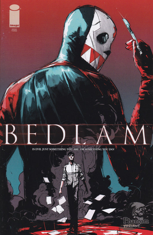 Image Comics Bedlam #3 Phantom Variant