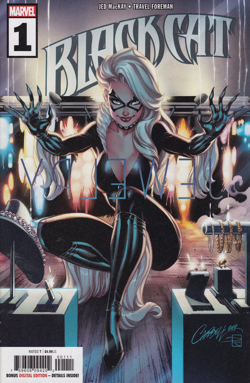 Marvel Black Cat #1 Campbell Variant