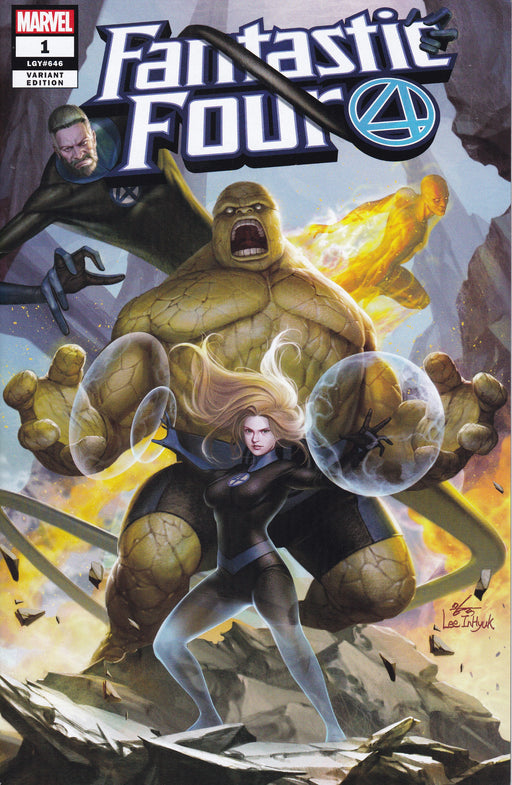 Marvel Fantastic Four #1 Jetpack Comics Variant