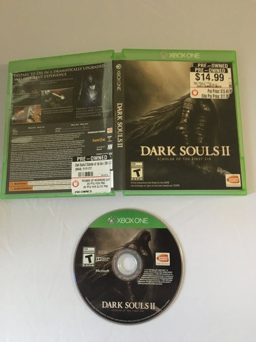 Dark Souls 2: Scholar of the First Sin (Xbox One) | Great Find Collectibles