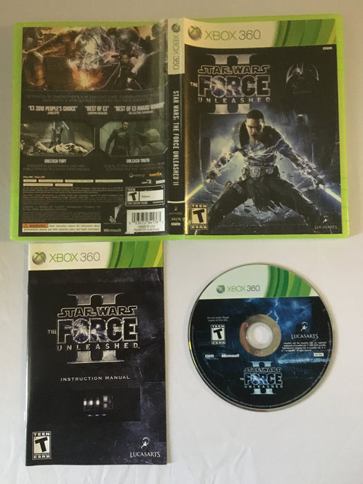 Star Wars: The Force Unleashed II (Xbox 360) | Great Find Collectibles