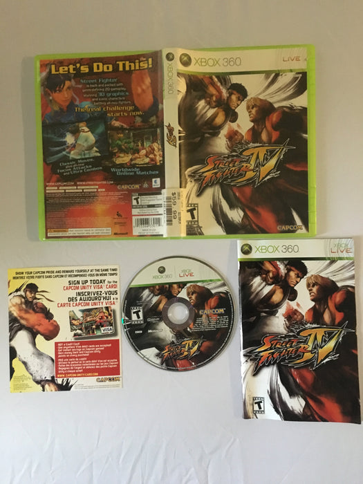 Street Fighter IV (Xbox 360) | Great Find Collectibles