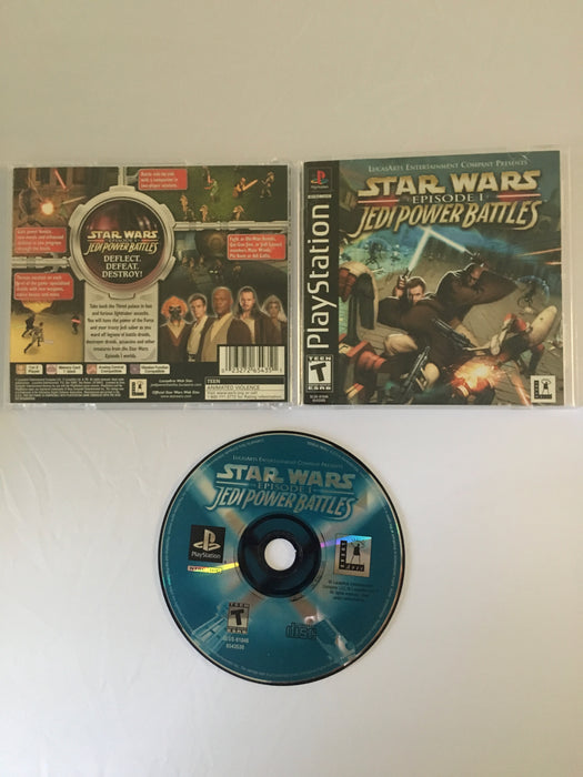 Star Wars: Episode I Jedi Power Battles (PSX) | Great Find Collectibles