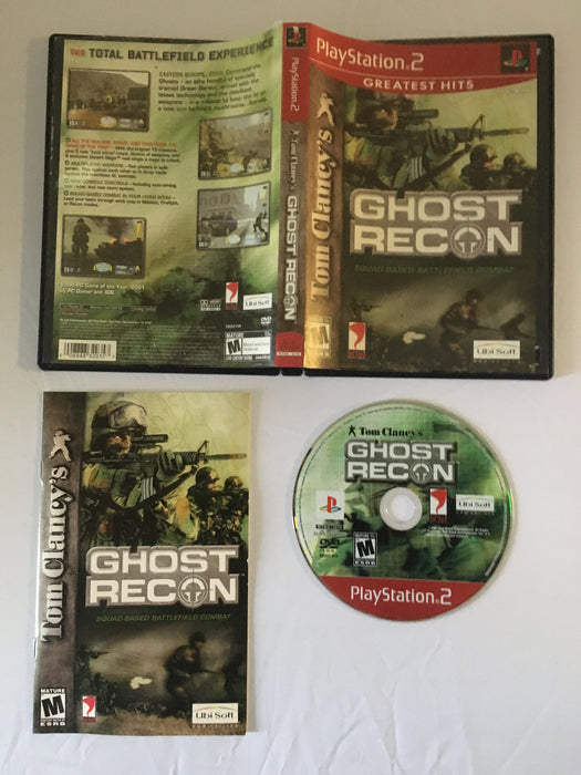 Tom Clancy's Ghost Recon [Greatest Hits] (PS2) | Great Find Collectibles