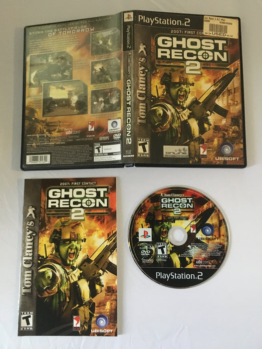 Tom Clancy's Ghost Recon 2 (PS2) | Great Find Collectibles