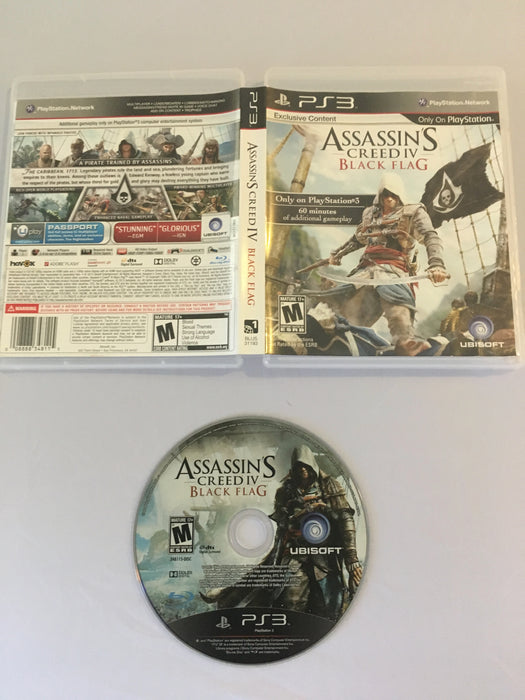 Assassin's Creed IV: Black Flag (PS3) | Great Find Collectibles