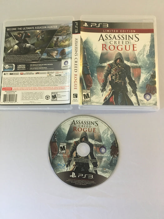 Assassin's Creed: Rogue [Limited Edition] (PS3) | Great Find Collectibles