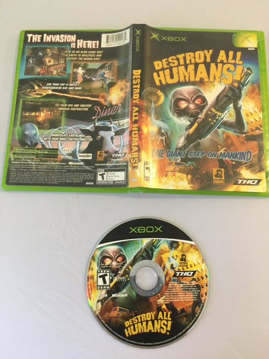 Destroy All Humans (XBOX) | Great Find Collectibles