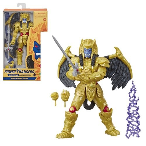 Mighty Morphin Power Rangers Goldar Lightning Collection Action Figure
