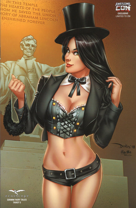 Zenescope Grimm Fairy Tales Tarot #5 Awesome CC Exclusive Ltd to 250 Copies