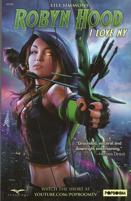 Zenescope Robyn Hood The Curse #6 SDCC Exclusive Ltd to 500 Copies
