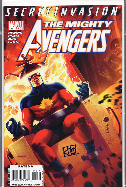 Marvel The Mighty Avengers #19 Signed by Khoi Pham with COA