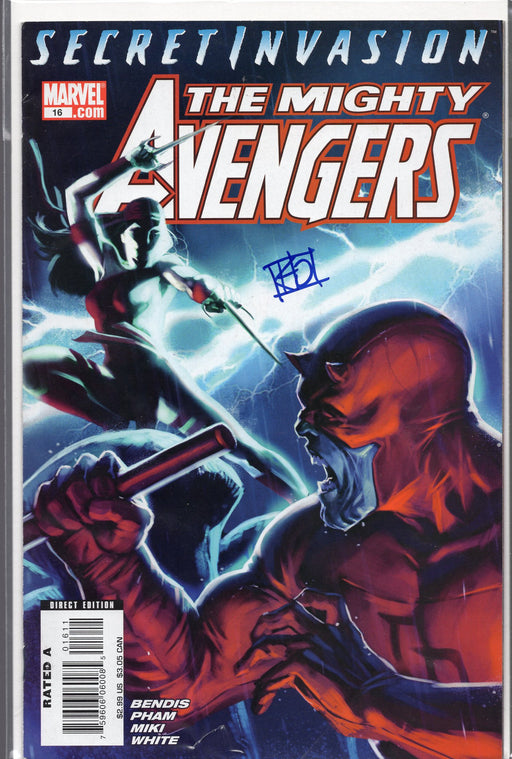 Marvel The Mighty Avengers #16 Signed by Khoi Pham with COA