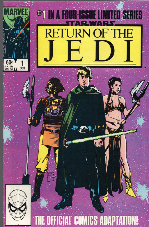 Marvel Star Wars Return of the Jedi Issues 1 - 4 Full Run