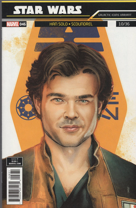 Marvel Star Wars #46 Hans Solo Variant