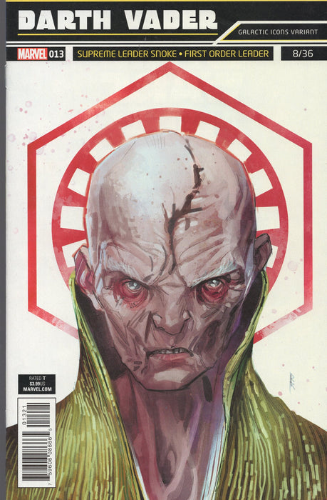 Marvel Darth Vader #13 Supreme Leader Variant
