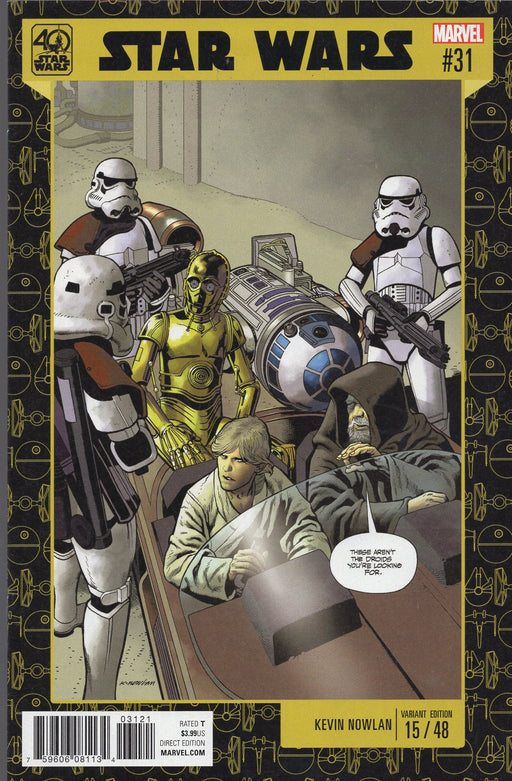 Marvel Star Wars #31 40th Anniversary Variant