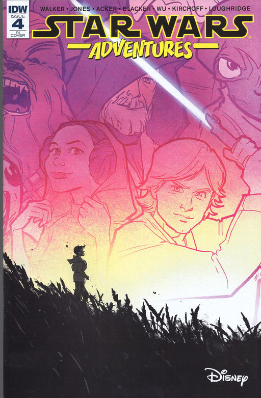 IDW Star Wars Adventures #4 Retailer Incentive Variant