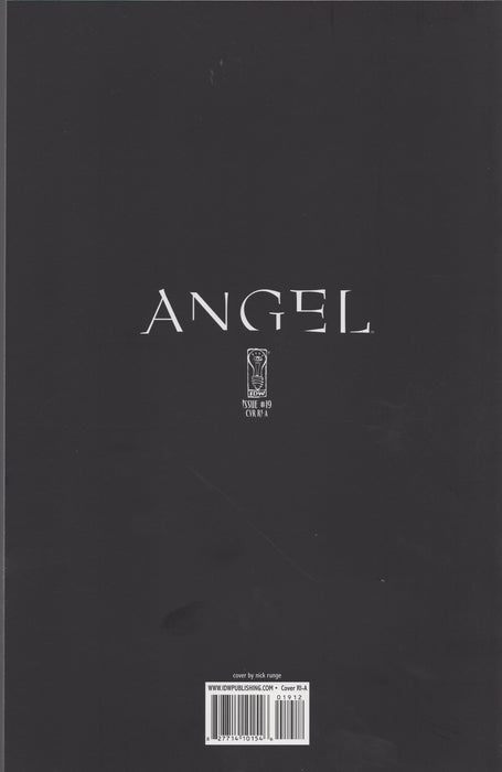 IDW Angel #19 Retailer Incentive A