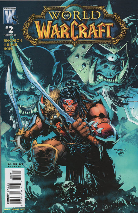 Wildstorm World of Warcraft #2 Both Regular and Sketch Covers