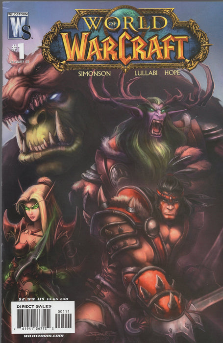 Wildstorm World of Warcraft Issues 1, 3, 4, 5