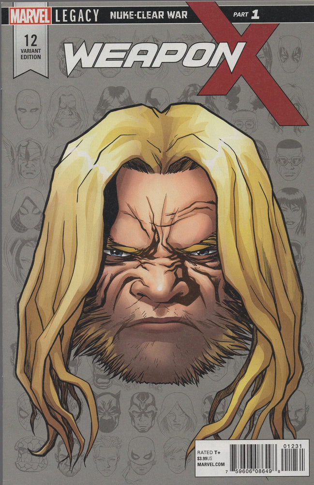 Marvel Weapon X #12 Variant Cover