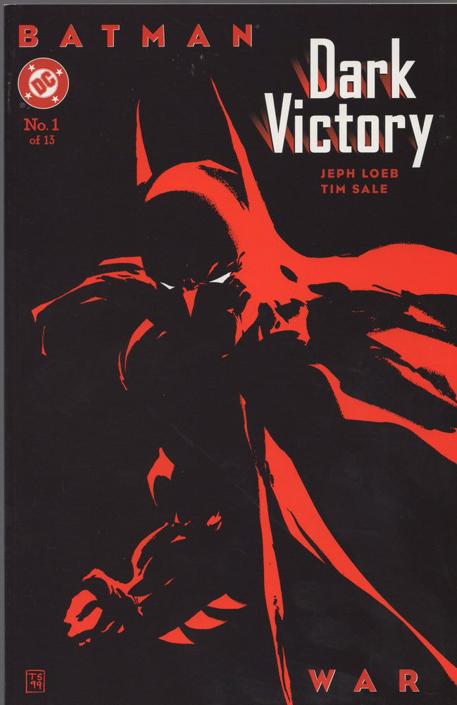 DC Batman Dark Victory Issues 1 - 4