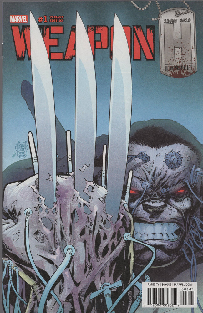 Marvel Weapon H #1 Variant Cover