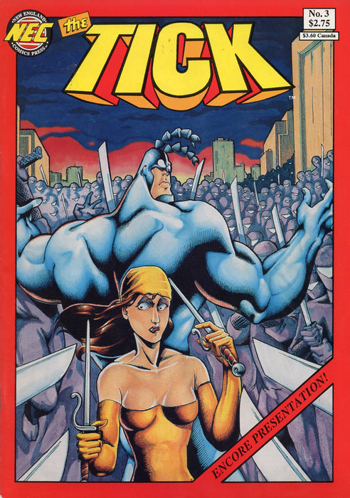 New England Comics The Tick #3