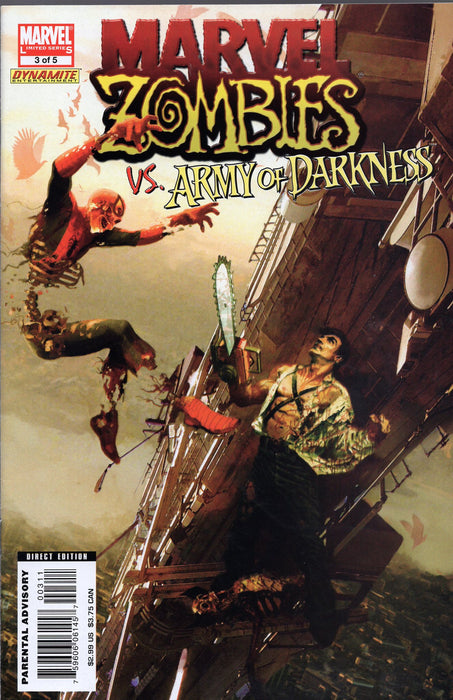 Marvel Marvel Zombies vs Army of Darkness Issues 2, 3, 4
