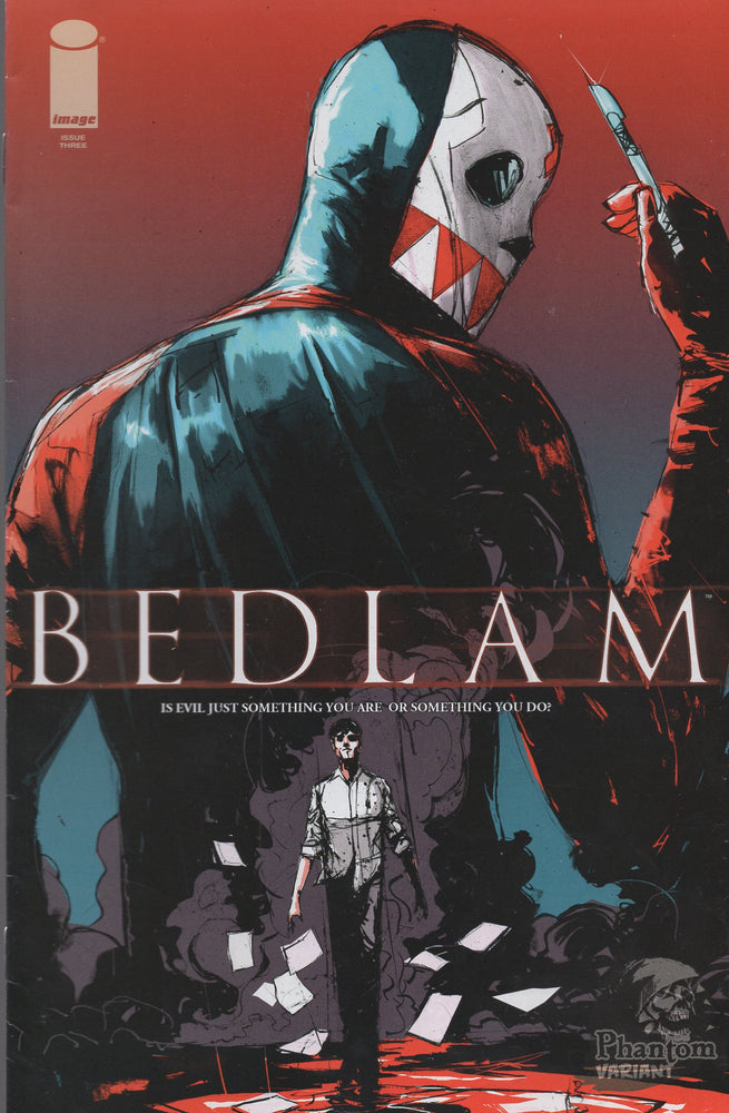 Image Comics Bedlam #1 Phantom Variant