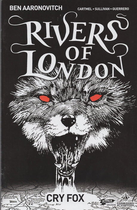 Titan Comics Rivers of London Cry Wolf #1 Jetpack Comics Exclusive