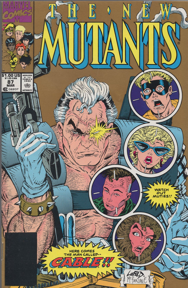 Marvel The New Mutants #87