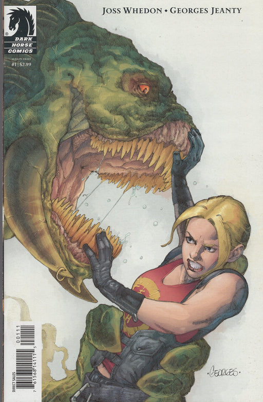 Dark Horse Comics Buffy The Vampire Slayer Season Eight #1 Fourth Print