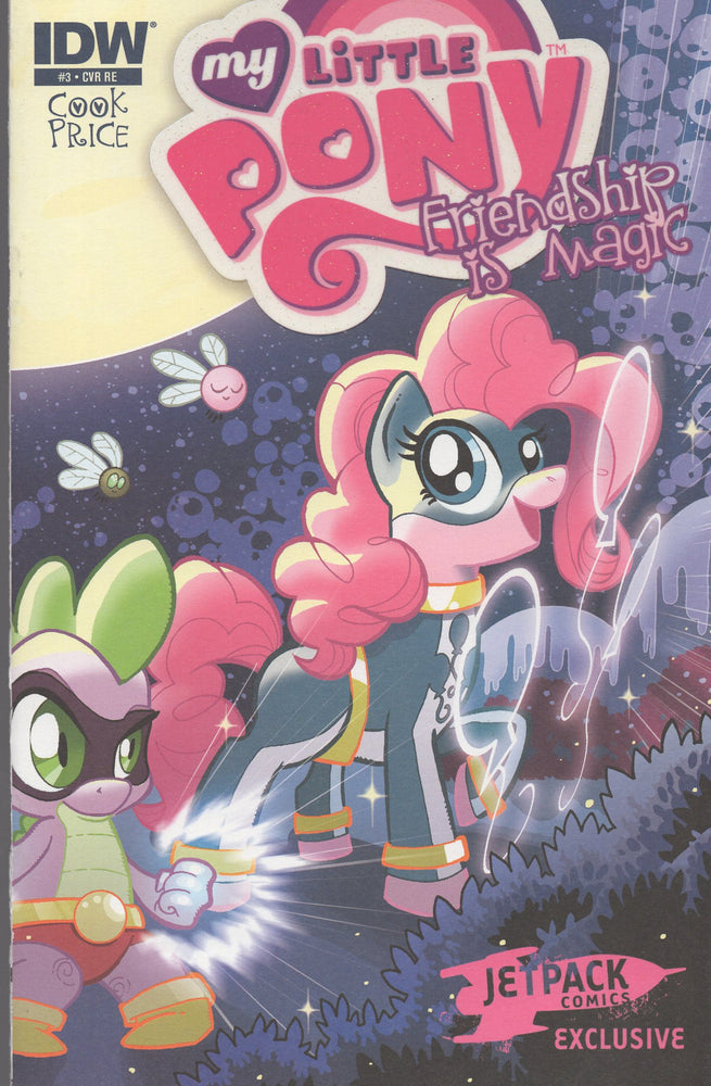 IDW My Little Pony Friendship is Magic #1 Jetpack Comics Exclusive