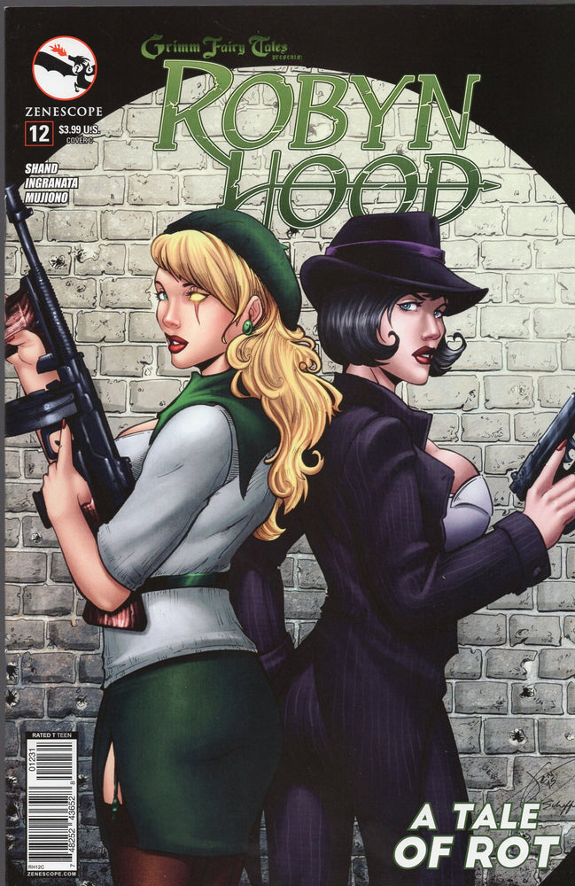 Zenescope Robyn Hood #12  Covers B and C