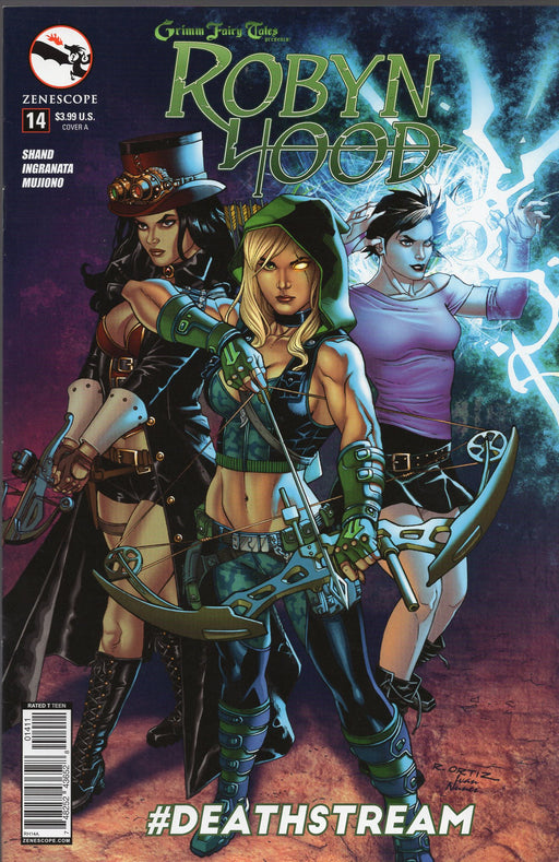 Zenescope Robyn Hood #14 Covers A and C