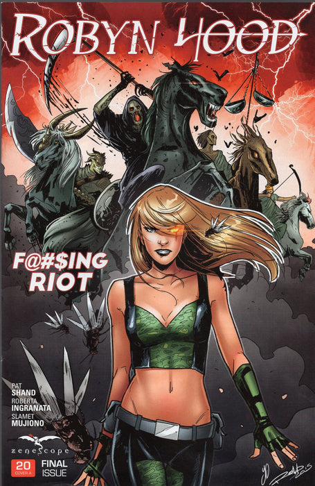 Zenescope Robyn Hood #20  Covers A and B