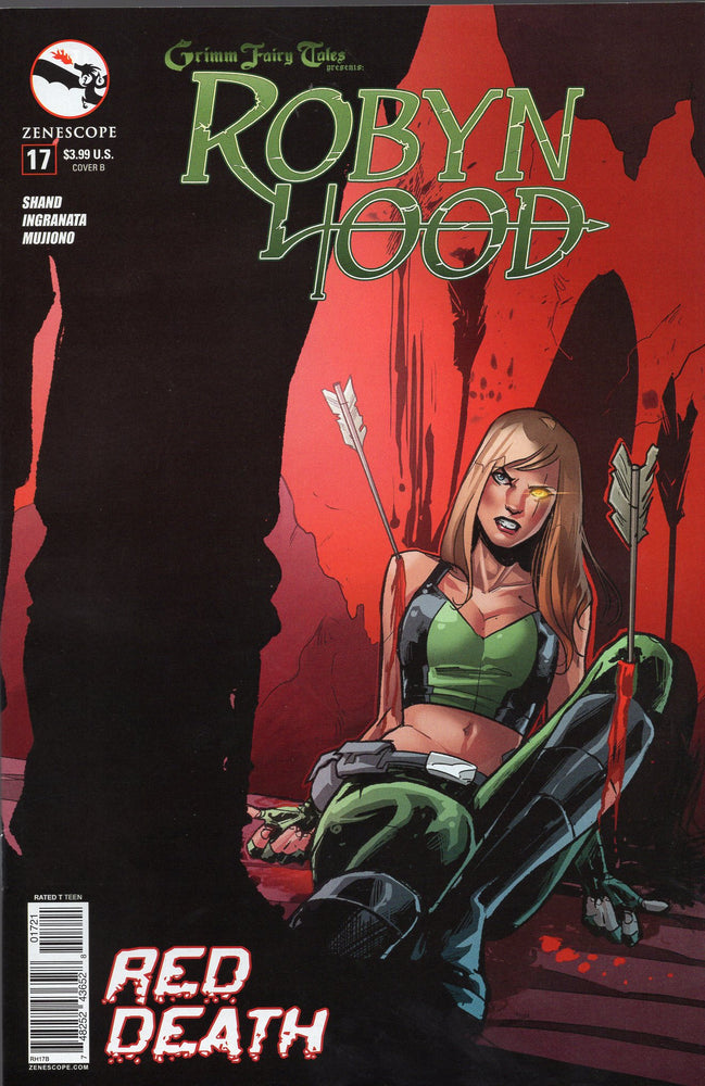 Zenescope Robyn Hood #17  Covers B and C