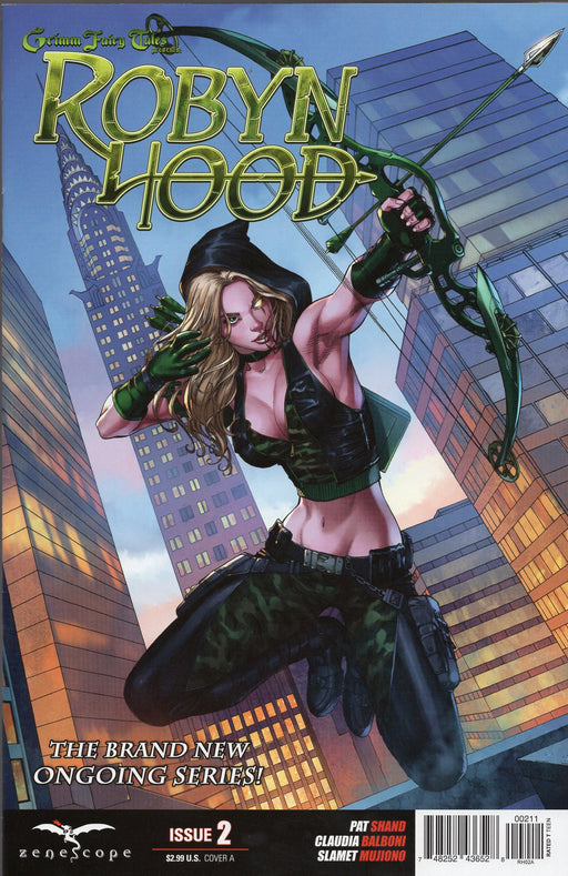 Zenescope Robyn Hood #2 Covers A & D