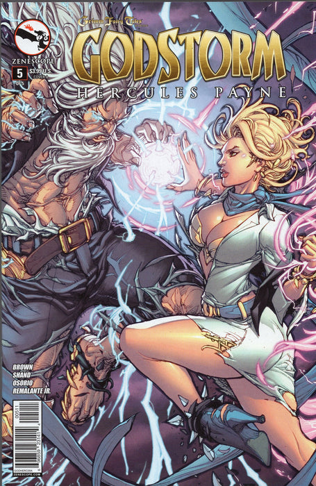 Zenescope Godstorm Hercules Payne Issues 1 - 5 Full Run
